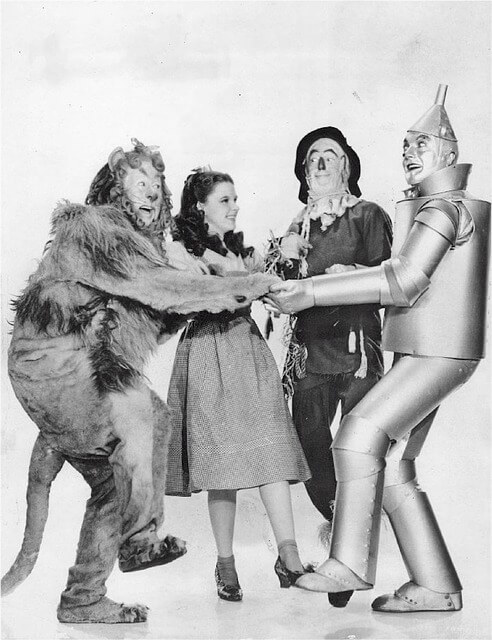 a lesson from…the wizard of oz